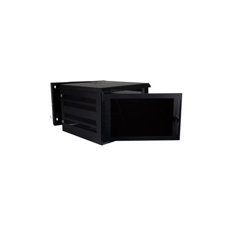 Quest WM3019-09-02 300 Series Wall Mount Enclosure - 9U Black