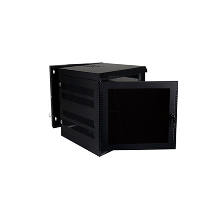 Quest WM3019-11-02 300 Series Wall Mount Enclosure - 11U Black