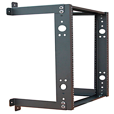 Quest WR1935-20-02 2-Post Fixed Wall Mount Rack - 20U