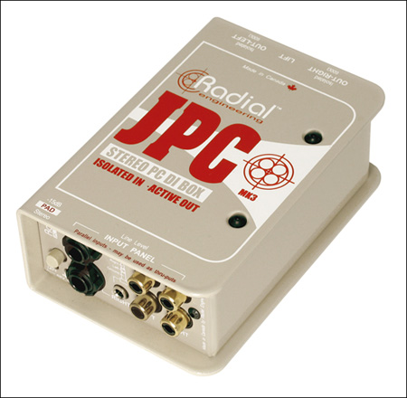 Radial JPC Stereo PC-AV Direct Box