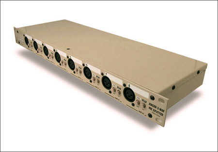 Radial OX8-r Mic Splitter - Passive w/ 8-input to 8-direct out & 8-isolated out - Radial Transformers