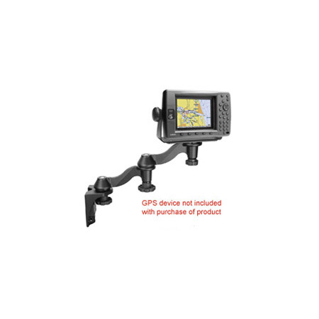 RAM 109V-1U Vertical Double Swing Arm Mount with Electronics Base