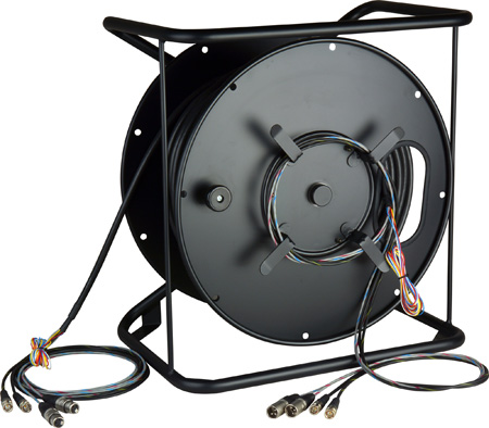 RAVR-1 AV Cable & Reel System with Connectorized HUB 656 Ft