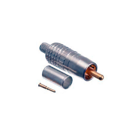 Canare RCAP-C5F RCA Crimp Connector for L-5CFB & V-5CFB or Belden 1189A & 9290