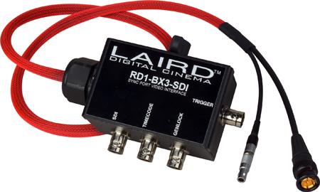 Laird RD1-BX3-SDI RED Epic/Scarlet Sync Port Video Interface
