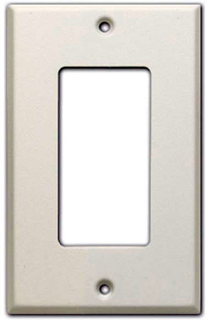 Radio Design Labs CP-1 Decora-Style Single Cover Plate - White