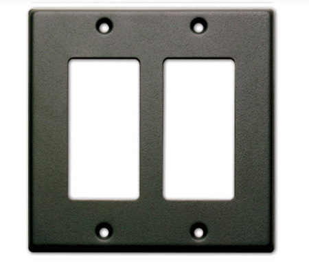 RDL CP-2B Double Cover Plate -Black