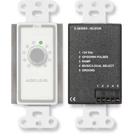 RDL D-RCX10R Remote Volume Control for RCX-5C