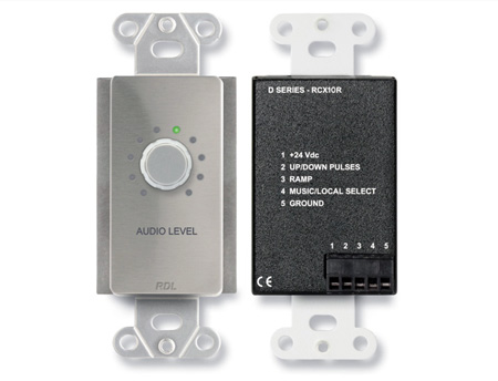 RDL DS-RCX10R Remote Volume Control for RCX-5C