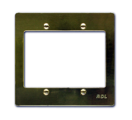 RDL RC-BTR2 Brass Trim Rings for ULTRASTYLE Wall Controls