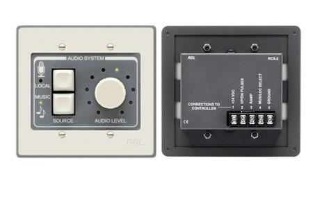 RDL RCX-2 Room Control for RCX-5C Room Combiner