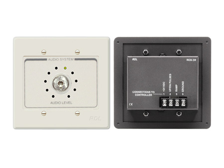 RDL RCX-3RN Room Control for RCX-5C Room Combiner - Ultrastyle Neutral