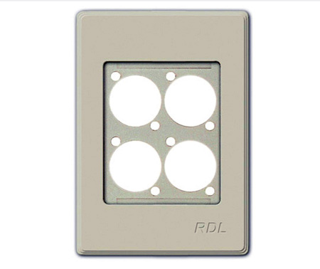 RDL RMS-4N Wall Mount Plate for AMS Series Products - Ultrastyle neutral