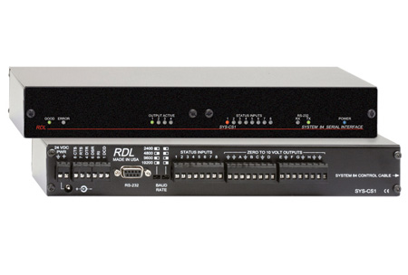 RDL SYS-CS1 System 84 Control Interface