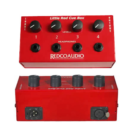 Redco RED-200 Little Red Cue Box Headphone Distribution
