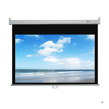 94 Inch 16:10 ReTract Manual Screen 50 x 80 Inch and 3 Year Warranty
