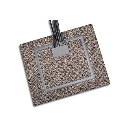 FSR RFL4.5-D1G-BLK 4 1/2 inch Deep Back Box with 2 - 1 Gang Plates - Black Trim