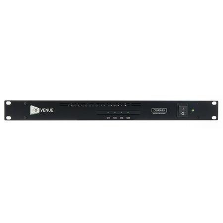 RF Venue COMBINE4 Signal Combiner for IEM Transmitters