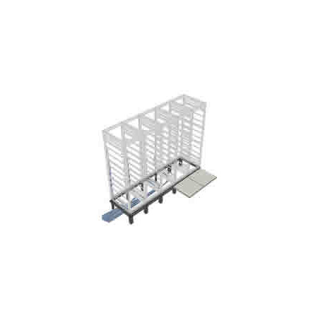 Middle Atlantic RIB-2-WMRK-42 2 Bay Riser for WMRK 42in Deep Racks