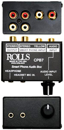 Rolls CPB7 Smart Phone Break Out Box