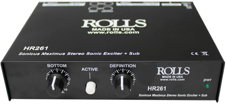 Rolls HR261 - Stereo Sonic Exciter