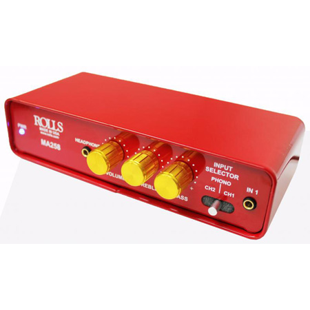 Rolls MA258 Stereo 20 Watt Integrated Amplifier with Phono Preamp