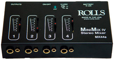 Rolls MX44 Mini-Mix IV Stereo Mixer