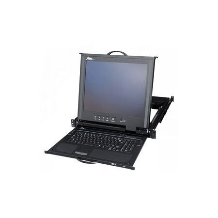 Middle Atlantic RM-KB-LCD17X8KVM Rack Mount Keyboard w/17 Inch LCD & KVM Switch