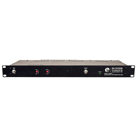 Rackmount RF Distribution Amplifier 30dB 54-860 MHz