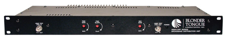 Blonder Tongue RMDA 860-30 Rackmount Distribution Amp 30dB 47-860MHz