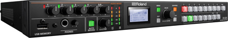 Roland XS-62S Rackmount AV Switcher with PTZ Camera Control