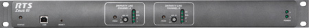 RTS ZEUSIII-USA Digital Intercom Matrix with US Power Cord