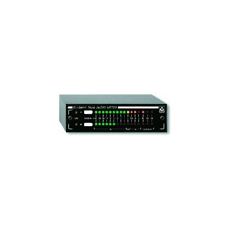 RDL RU-SM16A Dual Audio Meter - Average/Peak/Hold