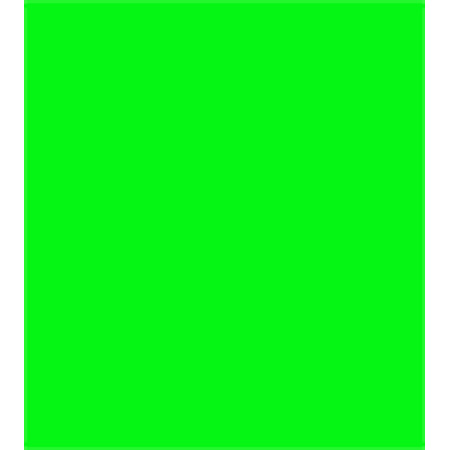 Rosco 20x24 Gel Sheet - Chroma Key Green