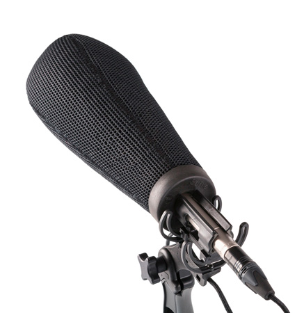Rycote 033203 18cm Super-Softie (19/22) Premium push-on Windshield with 3D-Tex