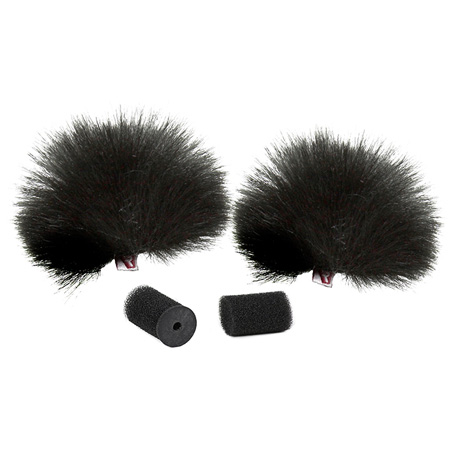 Rycote Black Lavalier Windjammers (Single)