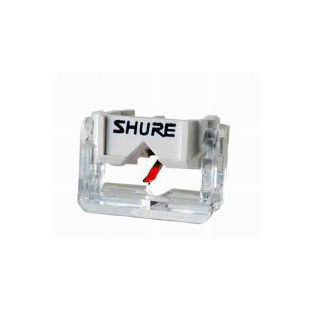 Shure Spherical replacement stylus for Shure M44-7 cartridge White