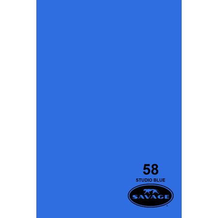 Savage 58-1253 - Seamless Paper - 53in x 12Yds - Studio Blue
