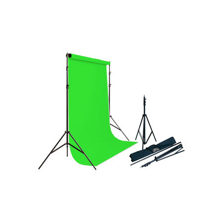 Savage 62037 4612 Porta Stand Vinyl Kit Chroma Key Green