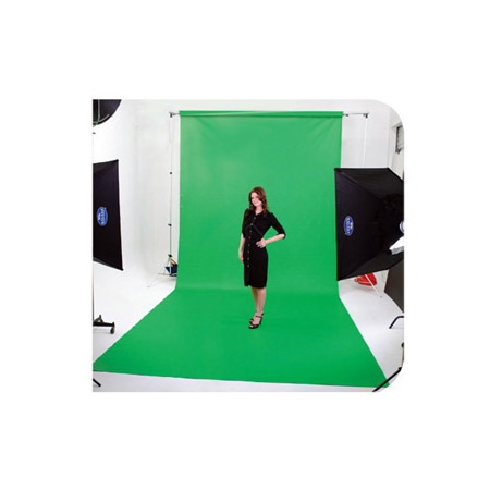 Savage V46-0910 Chroma Green 9 x 10 Ft. Infinity Vinyl Background