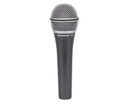 Samson Q8X Dynamic Supercardioid Handheld Vocal Microphone