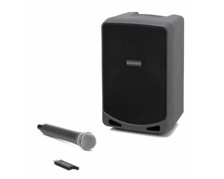 Samson Expedition XP106W Rechargeable Portable PA with Handheld Wireless System and Bluetooth