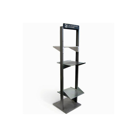 California Chassis 77inch Rackbilt Open Rack Black Finish