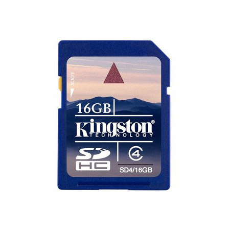 Kingston 16GB Secure Digital High-Capacity (SDHC) Flash Card