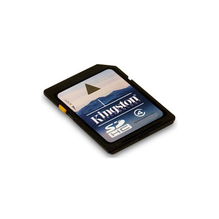 Kingston SD4/32GB 32GB Secure Digital High-Capacity (SDHC) Flash Card