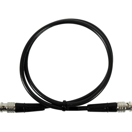 SD59-BB50 Premium Canare L-3CFW HD-Serial Digital SMPTE 292M/294M/424M BNC Cable 50 Foot Black