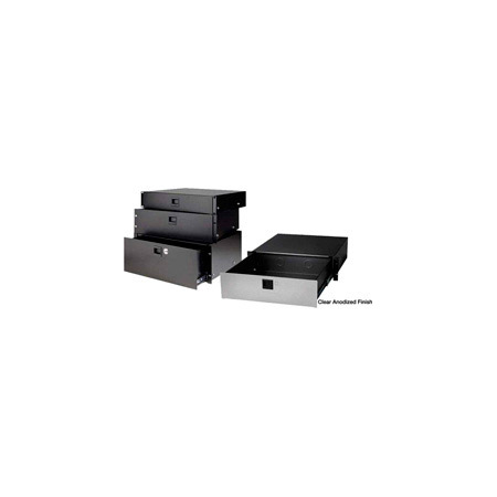 Raxxess SDR-4ACL Clear Anodized Elite Drawer 4RU