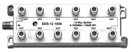 Blonder Tongue SDS-12 Splitter 12 Way RF Splitter