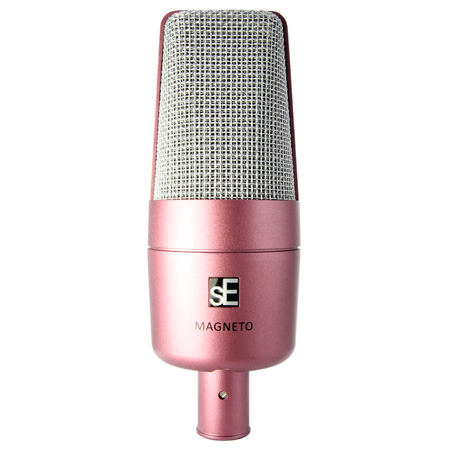 sE Electronics Magneto Special Edition Cardioid Condenser Microphone - Magenta