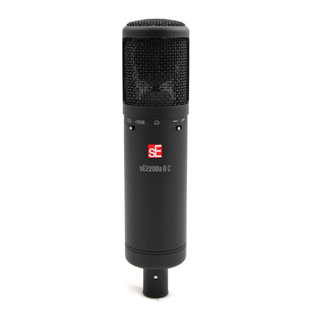 sE Electronics 2200a II C Class-A Cardioid Condenser Microphone